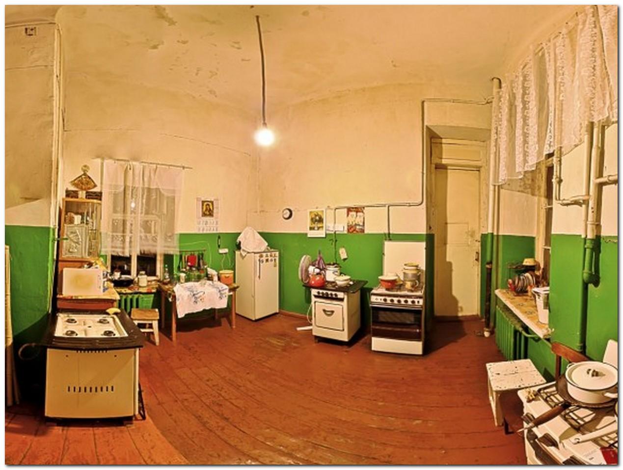 Кухня в коммунальной квартире