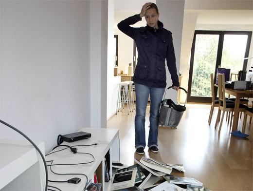 Беспорядок в квартире
