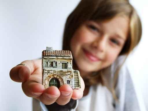 Девочка и дом