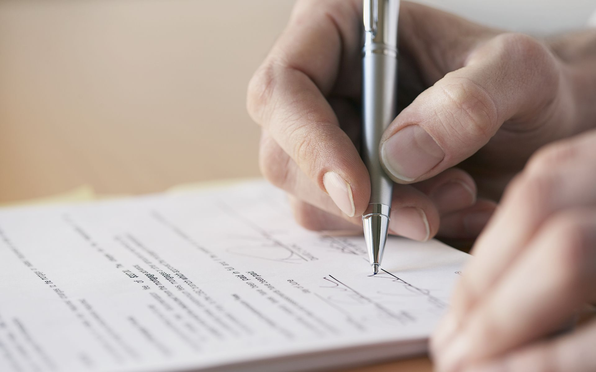 Расписка в получении задатка за квартиру