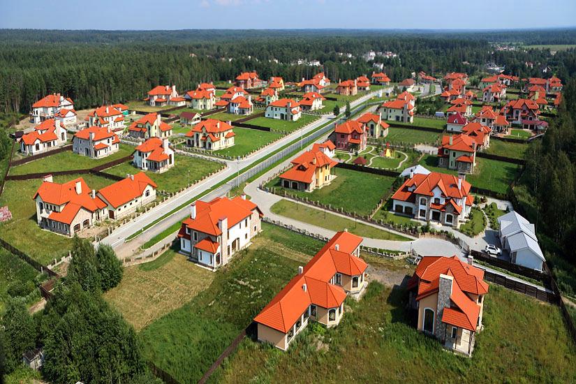 Земли поселений