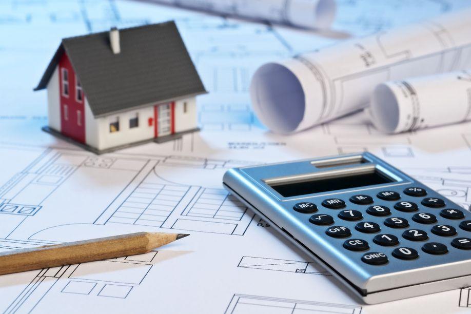 План дома и калькулятор