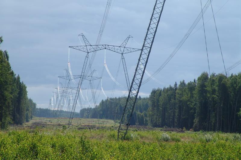 Охранные зоны линии электропередачи