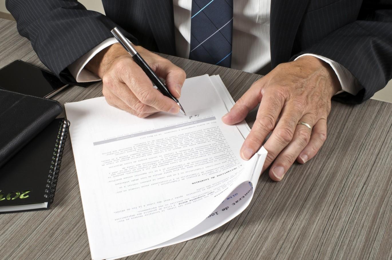 Договор субаренды нежилого помещения - подпись