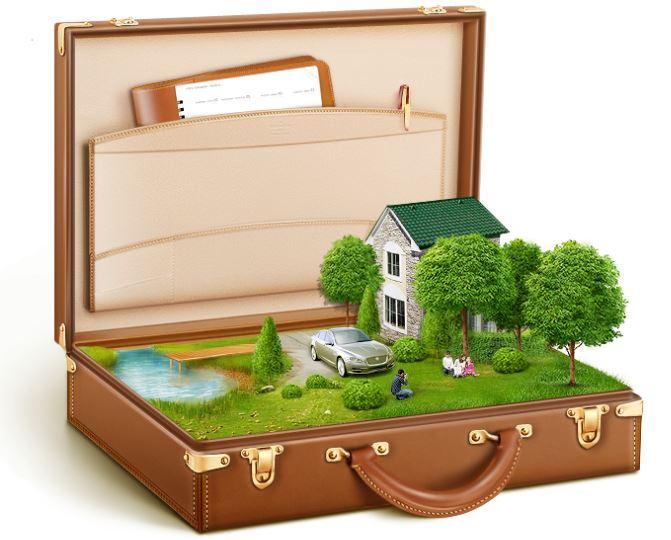 Участок в чемодане