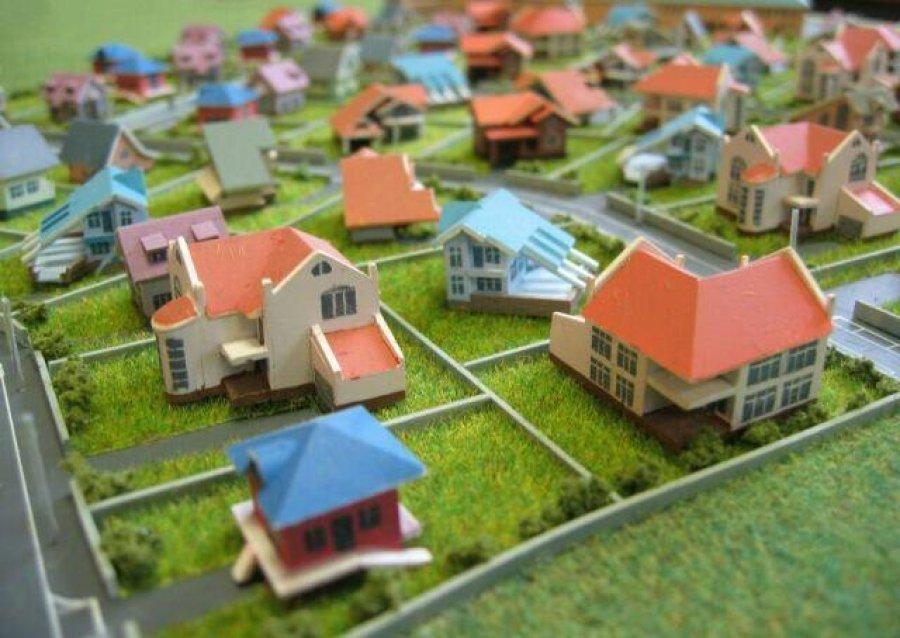 Проект дачного поселка