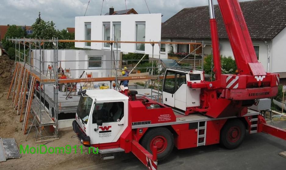 строим новый дом с бетонных блоков