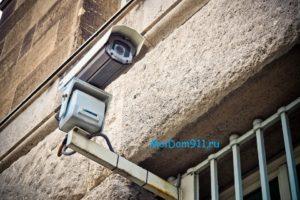 камера видеонаблюдения частного дома и квартиры