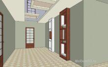 Как рассчитать площадь комнаты разной формы