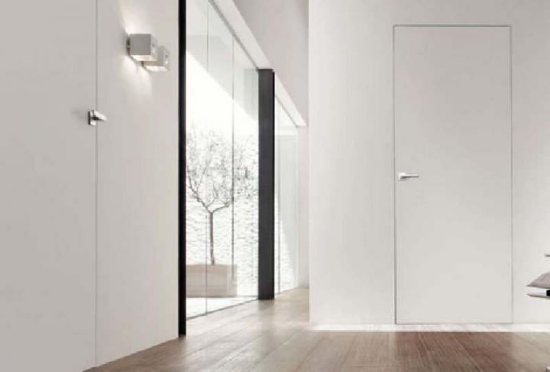 скрытые двери в интерьере квартиры